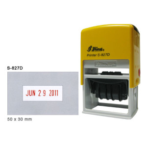 S 827D yellow